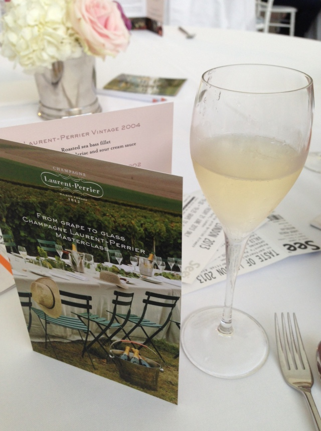 Laurent Perrier masterclass at Taste of London festival