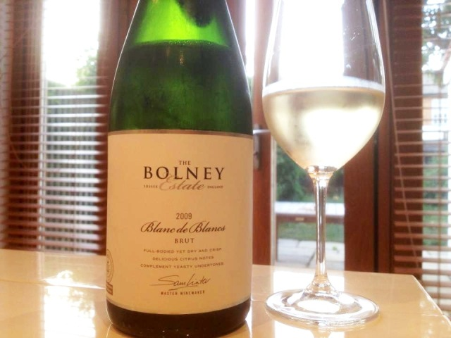 Here's the Bolney fizz (LWH took the photo which is why it's not at a wonky angle, as normal.)