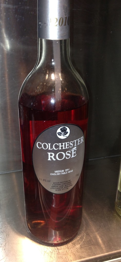 The Colchester rose is PROPERLY pink.
