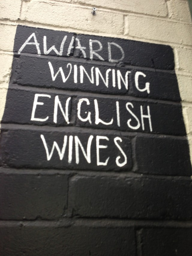 "Wine Pantry - you had me at ""English wines""."