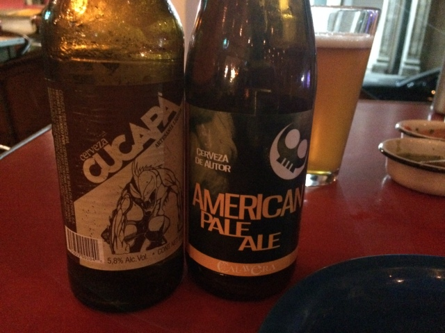 Chupacabara and APA at Cerveceria Union